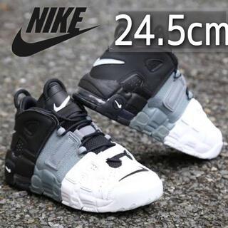 NIKE - 美品 希少カラー NIKE AIR MORE UPTEMPO GS 24.5cm