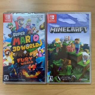 Nintendo Switch - 新品未開封 スーパーマリオ 3Dワールド マインクラフト Switch