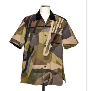 サカイ(sacai)のsacai x KAWS Shirt CAMOUFLAGE 2(シャツ)