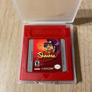 ゲームボーイ(ゲームボーイ)のGBC シャンティ Shantae 海外製品 ゲームボーイカラー(携帯用ゲームソフト)