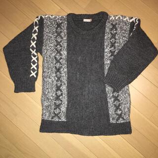 イッセイミヤケ(ISSEY MIYAKE)の90s ISSEY SPORT vintage ニット セーター 古着 IS(ニット/セーター)