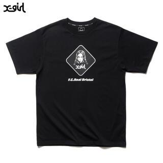 エフシーアールビー(F.C.R.B.)のL 新品 送料無料 FCRB 21AW X-girl SUPPORTER TEE(Tシャツ/カットソー(半袖/袖なし))