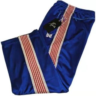 Needles - NEEDLES NARROW TRACK PANT IN BLUE