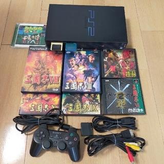 PlayStation2 - プレステ2 三国志カセット 本体 ジャンク品付
