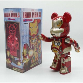 BE@RBRICK Iron man 400%(その他)