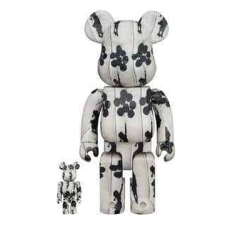 BE@RBRICK Flying Balloons Girl 400%+100%(その他)
