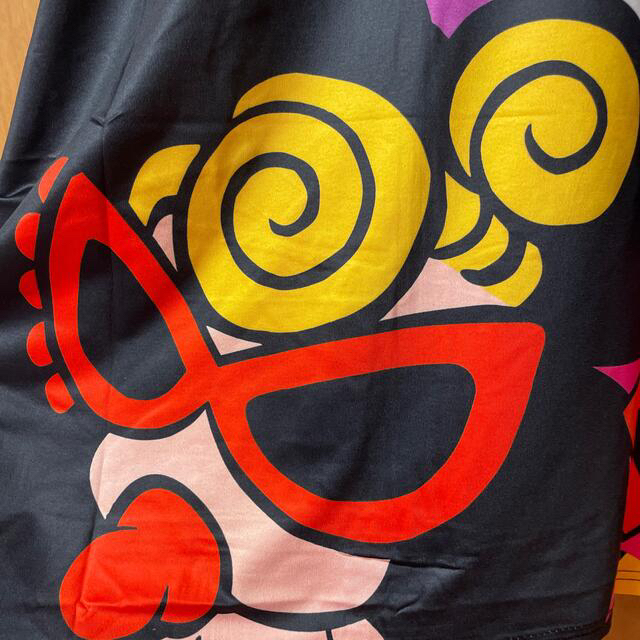 ヒスミニ風★大人ビッグTシャツ黒 レディースのトップス(Tシャツ(半袖/袖なし))の商品写真
