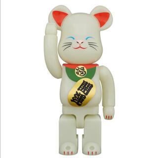 メディコムトイ(MEDICOM TOY)のベアブリック  招き猫 蓄光 弐 400%(その他)