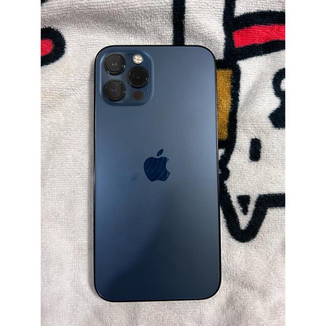 iPhone(アイフォーン)の iPhone12 pro SIMフリー 128gb パシフィックブルー スマホ/家電/カメラのスマートフォン/携帯電話(スマートフォン本体)の商品写真