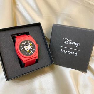 NIXON - 未使用☆NIXON ニクソン ディズニー ミッキー 腕時計 赤 BEAMS