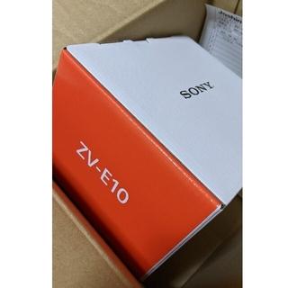 SONY - 新品未開封SONY ZV-E10L レンズキット キャンペーン申込み可能