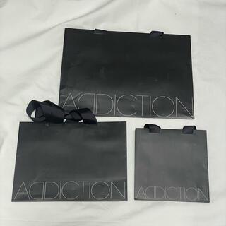 アディクション(ADDICTION)のADDICTION ショッパー 3つセット(ショップ袋)