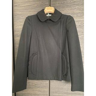 miumiu - miumiu コレクションライン スカラップ ジャケットコート
