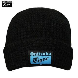Onitsuka Tiger - ★送料無料★UK直輸入★オニツカタイガー★ビーニー/ニットキャップ★黒★