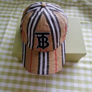 バーバリー(BURBERRY)の箱付き!★「バーバリー」 帽子/キャップ(キャップ)