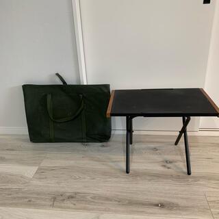 UNIFLAME - 【純正ケース付き】UNIFLAME 焚き火テーブル マッド黒塗装