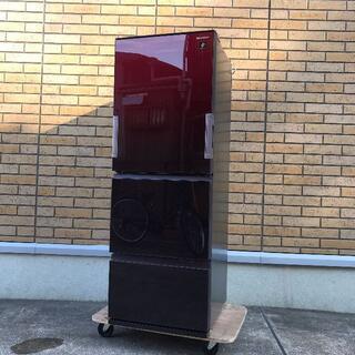 【シャープ】3ドア 冷凍冷蔵庫 356L SJ-GW36D-R 2018年