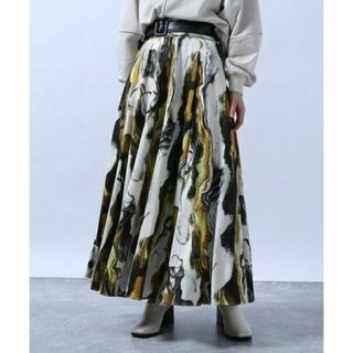 HARE - 完売品〘新品タグ付き〙HARE*サテンマーブルスカート