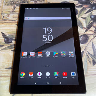 エクスペリア(Xperia)のSIMフリー○Xperia Z4 Tablet SOT31○テレビアンテナ内蔵(タブレット)