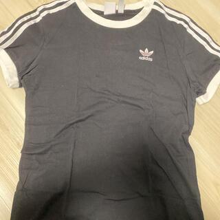 adidas - アディダス adidas 3ストライプ tシャツ ライン