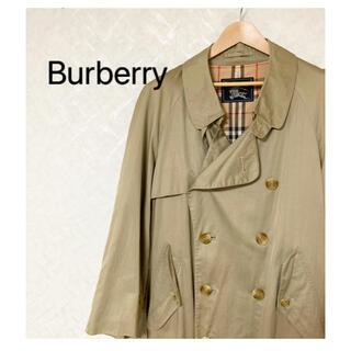 バーバリー(BURBERRY)のBurberry  バーバリー オールド チェック柄 トレンチコート メンズ(トレンチコート)