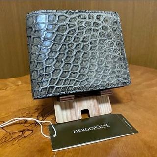 GANZO - HERGOPOCH エルゴポック クロコダイル 財布 レアモノ、レアカラー