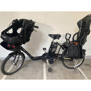 Panasonic - パナソニック 20インチ 電動自転車 3人乗り電動自転車 大容量 綺麗 子供乗せ