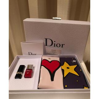 Dior - 【新品 未使用】Dior ディオール ノベルティ リップ 巾着 ネイルポリッシュ