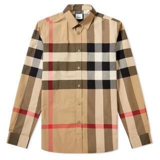 バーバリー(BURBERRY)の新品 BURBERRY チェックシャツ(シャツ)