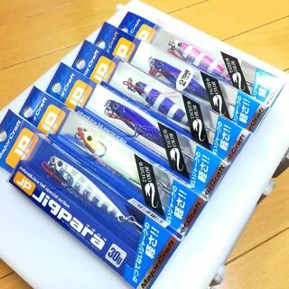 メジャークラフト(Major Craft)の新品未使用☆送料込み♪メジャークラフト ジグパラショート 30g 6カラーセット(ルアー用品)