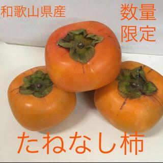 和歌山県産 たねなし柿 ご家庭用 7.5キロ