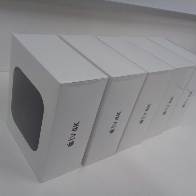Apple(アップル)のApple MQD22J/A  AppleTV 4K 32GB(新品・未開封品) スマホ/家電/カメラのPC/タブレット(PC周辺機器)の商品写真