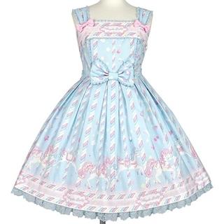 Angelic Pretty - 【新品】Sugary Carnivalジャンパースカート(サックス)