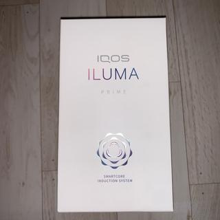 アイコス(IQOS)の未開封 未使用アイコス iQOS イルマILMA プライムPRIME ブラック(タバコグッズ)