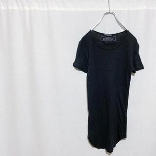 バルマン(BALMAIN)のBALMAIN バルマン リブ 切りっぱなし カットソー Tシャツ 半袖 メンズ(Tシャツ/カットソー(半袖/袖なし))