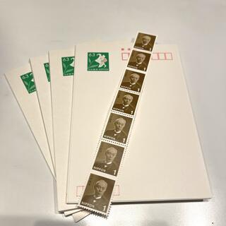 63円はがき39枚と1円切手7枚のセット