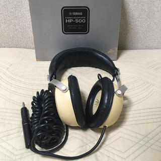 ヤマハ(ヤマハ)のヤマハ HP-500 ステレオ ベッドフォン 専用ケース付き YAMAHA(ヘッドフォン/イヤフォン)