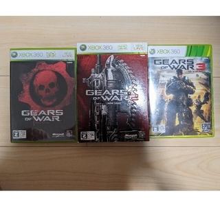 エックスボックス360(Xbox360)のギアーズオブウォー1, 2, 3 セット(2のみ限定版)(家庭用ゲームソフト)
