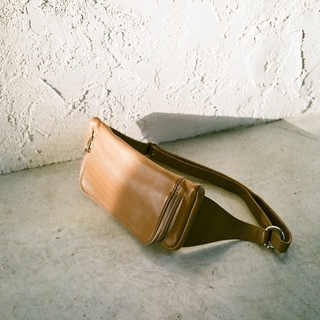 STUDIOUS - CLANE LEATHER WAIST POUCH