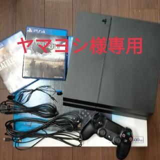 PlayStation4 - SONY PlayStation4 CUH-1200A ジェットブラック