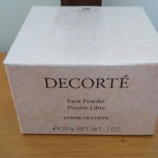 COSME DECORTE - 新品未開封 コスメデコルテ フェイスパウダー #80