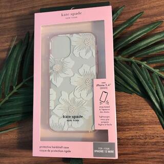 ケイトスペードニューヨーク(kate spade new york)の新作★ケイトスペード iPhone 12 mini 花柄 ホーリーホック(iPhoneケース)