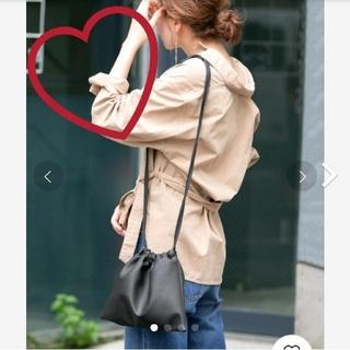 完売品♡フェイクレザー 巾着ショルダーバッグ♡