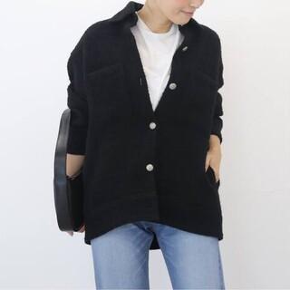 DEUXIEME CLASSE - 新品■TWEED ジャケット■ブラック■ドゥーズィエムクラス