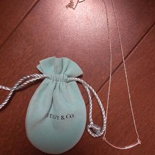 Tiffany & Co. - Tiffany tスマイルネックレス スモール