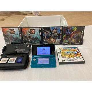 3DS 本体アクアブルー&拡張スライドパッド&ソフトセット