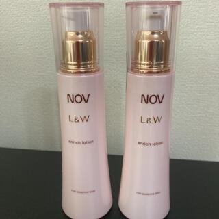 ノブ(NOV)の専用!NOV ノブ L&W エンリッチローション  120ml(化粧水/ローション)