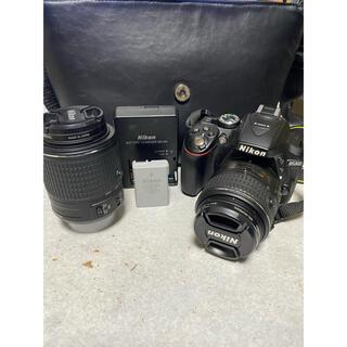 Nikon - Nikon D5300 ダブルレンズ 一眼レフカメラ ニコン