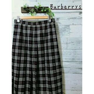 バーバリー(BURBERRY)の【大きいサイズ】Burberrys  プリーツスカート  ノバチェック(ひざ丈スカート)