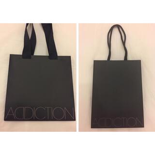 アディクション(ADDICTION)のADDICTION ショップ袋 2枚セット(ショップ袋)